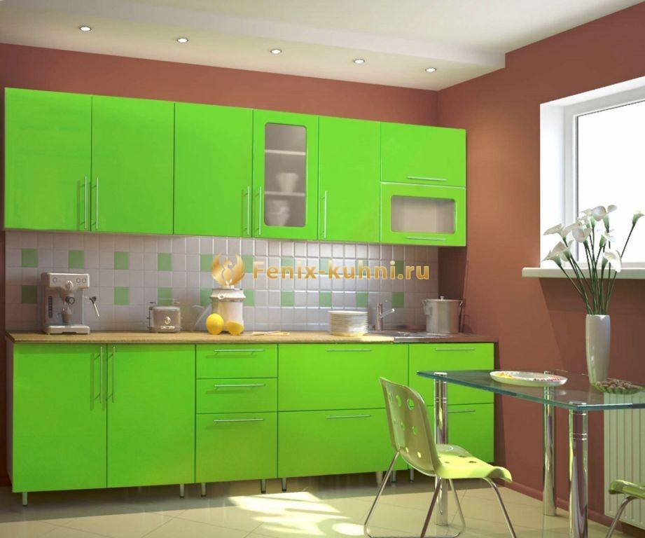Мебель кухня салатовый цвет фото